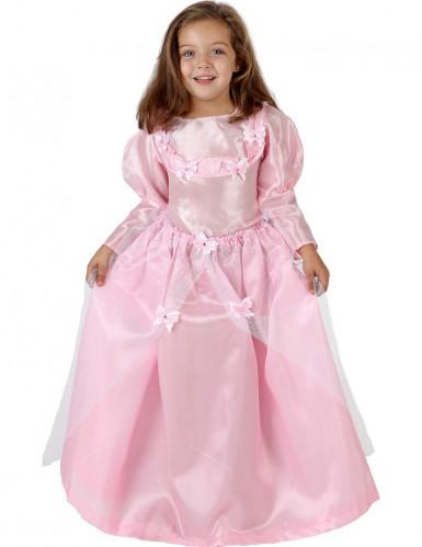 Pinkki mekko prinssin tanssiaisiin - Lasten prinsessa-asu
