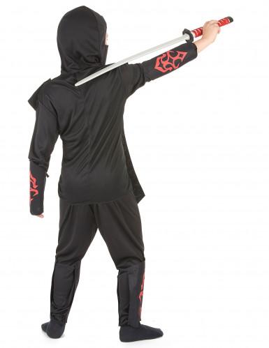 Punamusta ninjan asu lapsille-2