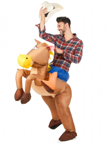 Puhallettava hevospuku aikuisille-1