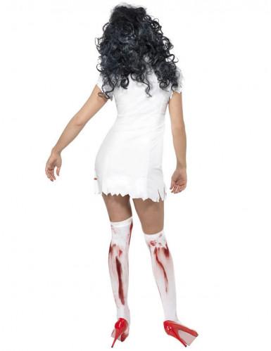 Naisten Halloween asu Zombisairaanhoitaja-2