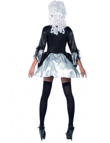 Seksikäs barokkityylinen mekko naisille-1