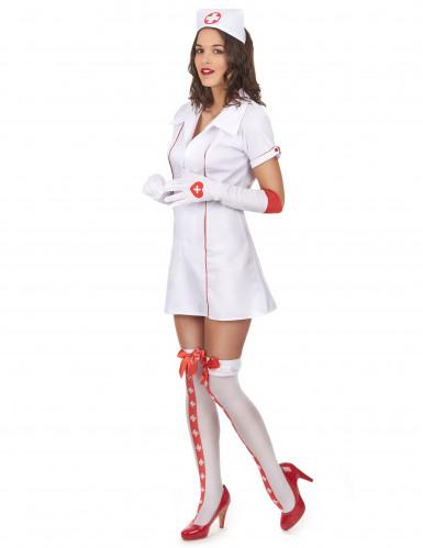 Leikkisä sairaanhoitaja - Naisten hoitsuasu-1