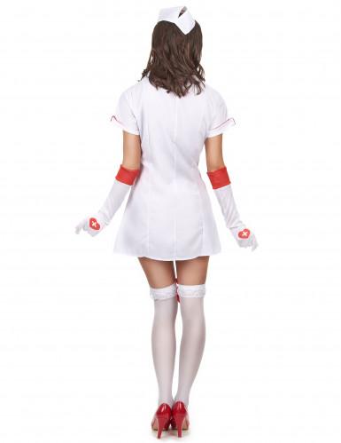 Leikkisä sairaanhoitaja - Naisten hoitsuasu-2