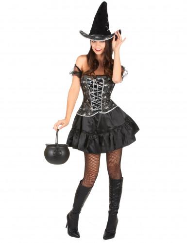 Seksikäs Halloween noita-asu naisille