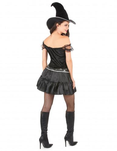 Seksikäs Halloween noita-asu naisille-2