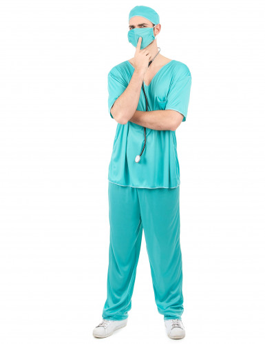 Miesten lääkäriasu