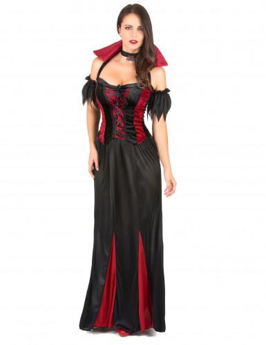 Aikuisten Halloween Vampyyriasu naisille