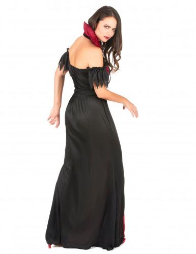 Aikuisten Halloween Vampyyriasu naisille-2