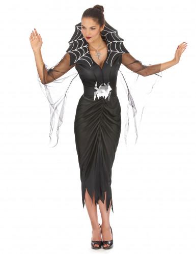 Naisten Halloween Hämähäkkiasu