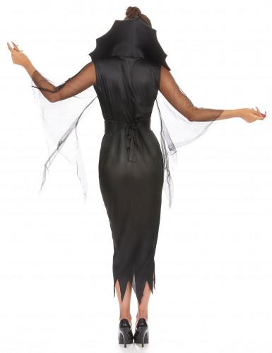 Naisten Halloween Hämähäkkiasu-2
