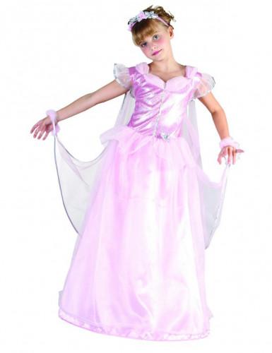 Pinkki Prinsessa-asu lapsille