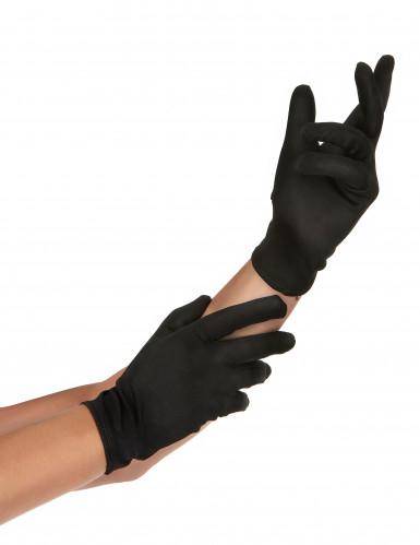 Mustat hansikkaat aikuisille