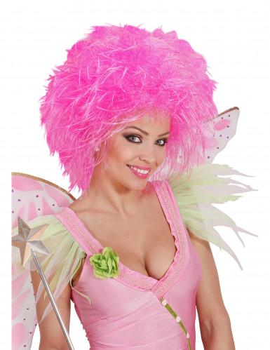 Pinkki peruukki