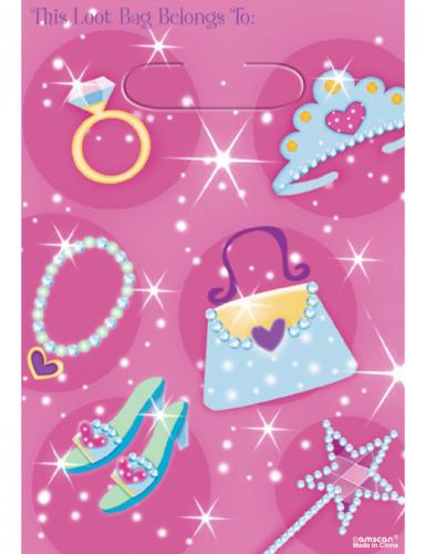 Prinsessa-lahjapussit, 8 kpl