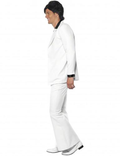 Valkoinen discopuku miehelle-1
