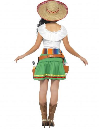 Meksikolaisen tarjoilijattaren naamiaisasu aikuiselle-1