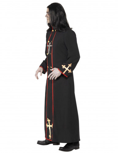 Miesten Halloween Demoninen munkki -asu-1