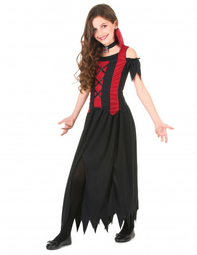 Punamusta vampyyriasu lapsille-1