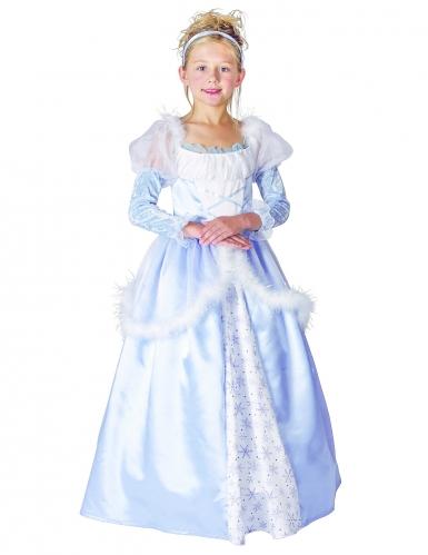 Taivaan sininen prinsessa asu lapsille