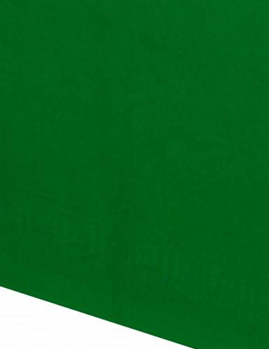 Vihreä paperinen pöytäliina-1
