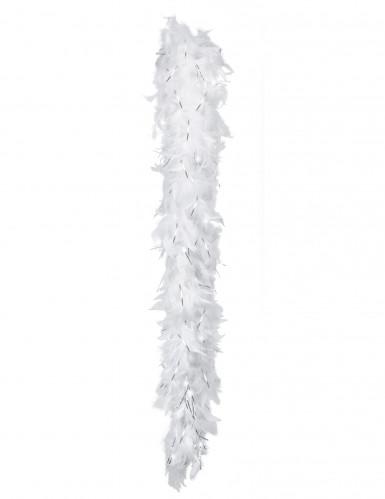 Valkoinen höyhenpuuhka