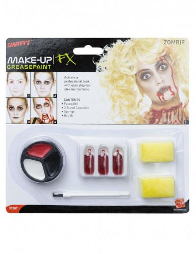 Zombi meikkisetti - Halloweenmeikkaus-1