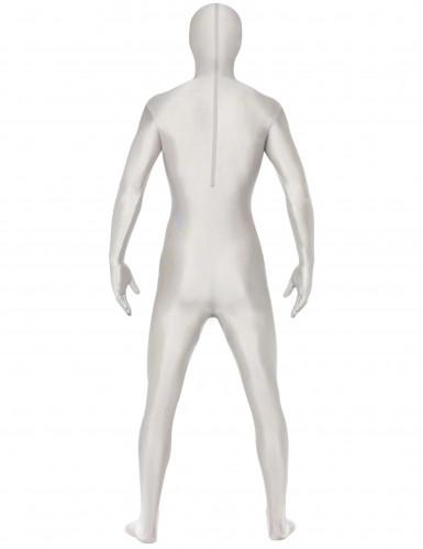 Ruumiinavatun ruumiin valkoinen haalari aikuiselle-1