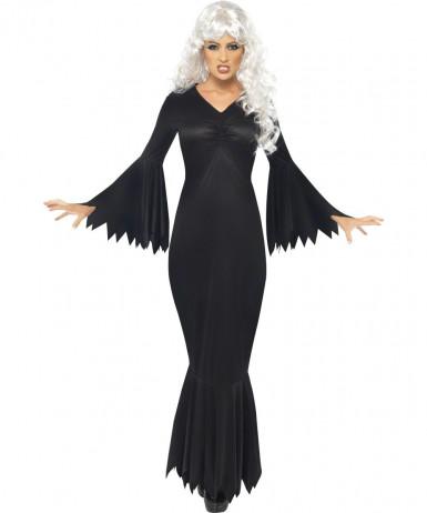 Naisten tumma vampyyriasu Halloween