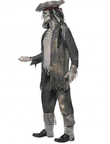Miesten kummitusmerirosvo Halloween-naamiaisasu-1