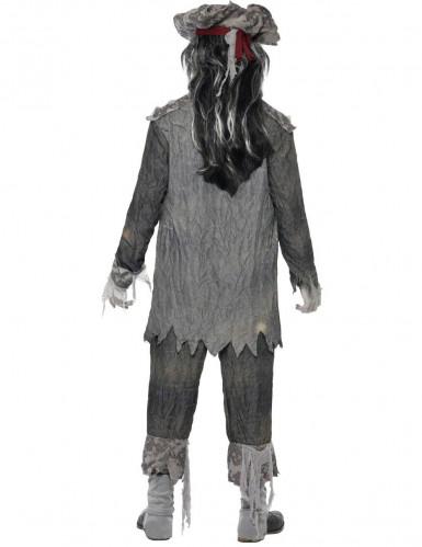 Miesten kummitusmerirosvo Halloween-naamiaisasu-2