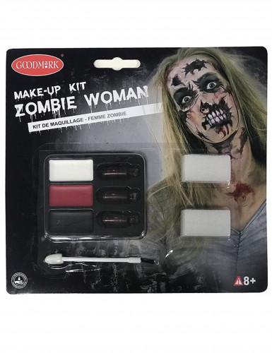 Zombin Halloween-meikkisetti naisille-1