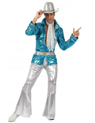 Miesten sininen discopuku