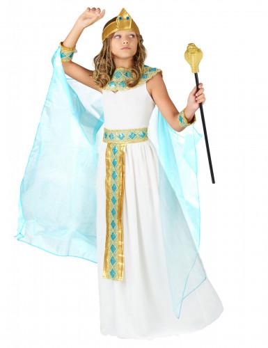 Egyptin kuningatar -asu kultaisilla yksityiskohdilla lapsille-1