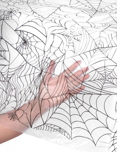 Halloween-pöytäliina, hämähäkinseitti-1