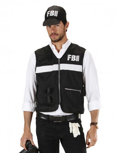 FBI-liivi ja lakki aikuisille