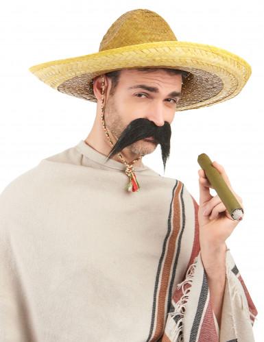Aikuisten keltainen meksikolainen sombrero-1