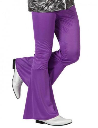 Miesten violetit discohousut