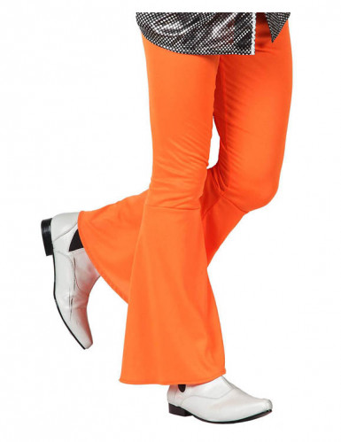 Miesten oranssit discohousut