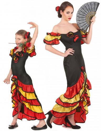 Flamencotanssijat - Pariasu aikuiselle ja lapselle