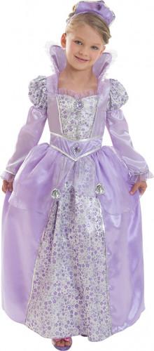 Tyttöjen Corolle™ kuningatar syreeni naamiaispuku