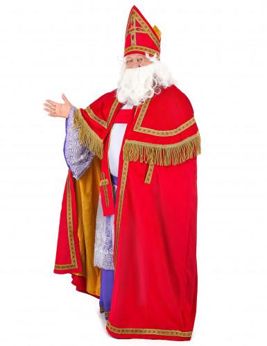 Pyhä Nikolaus -asu miehelle - luksus-1