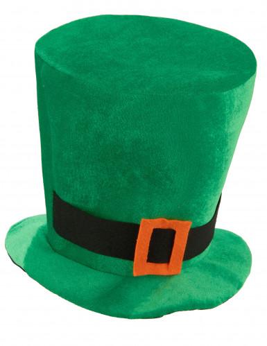 St Patrick's hattu vihreästä velourista