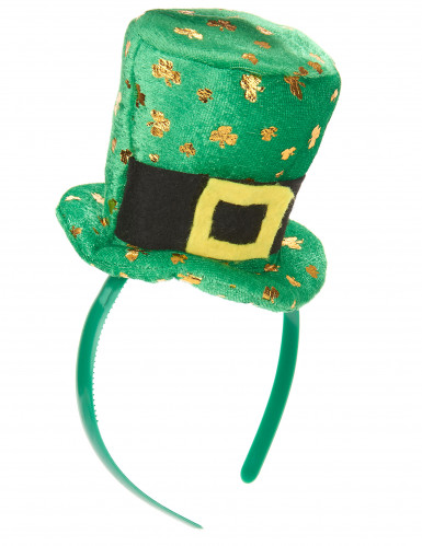 Naisten hiuspanta St Patrick's -minihattu