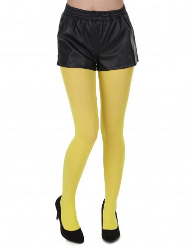 Keltaiset sukkahousut aikuisille