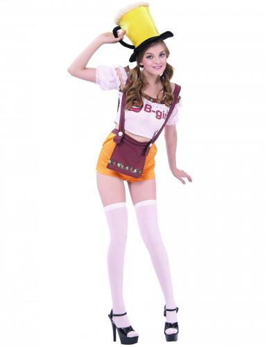 Oona Oktoberfest -naamiaisasu aikuiselle