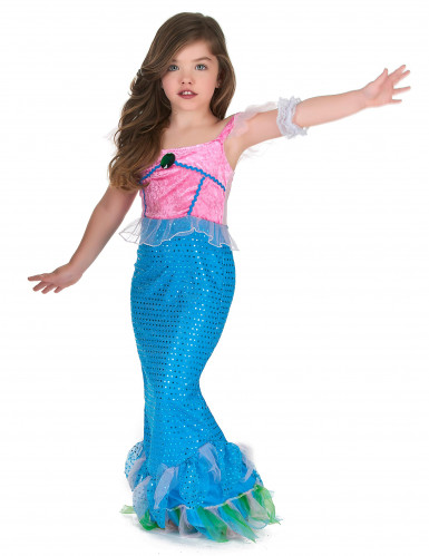 Lasten hurmaavaa merenneitoasu