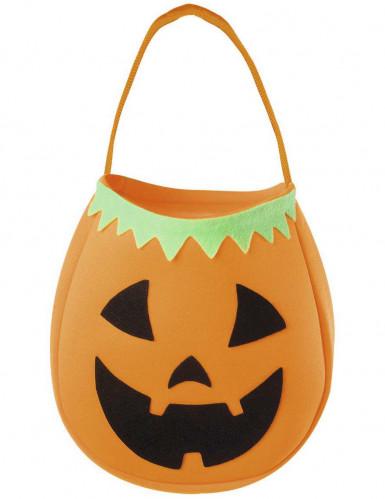 Lasten kurpitsakassi Halloween
