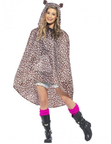 Aikuisen leopardiponcho