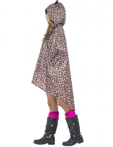 Aikuisen leopardiponcho-1