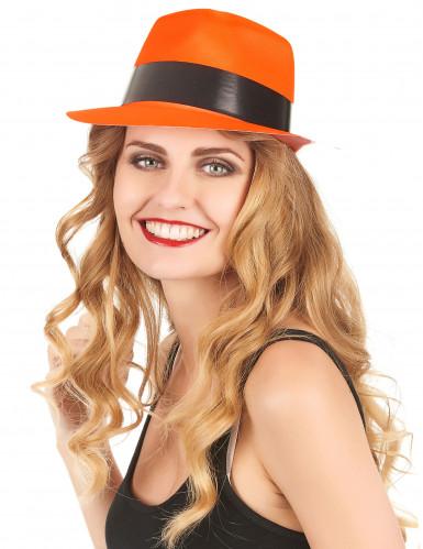 Oranssi gangsterin hattu aikuisille-1
